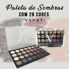 2157.4.1 PALETA DE SOMBRAS 28 CORES MATTE