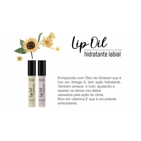 FB139 HIDRATANTE LABIAL LIP OIL C/ 36