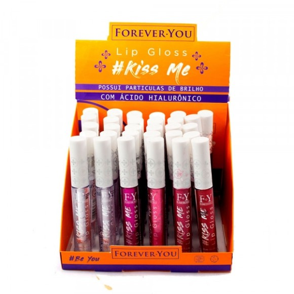 FY001 LIP GLOSS KISS ME FOREVER YOU C/24